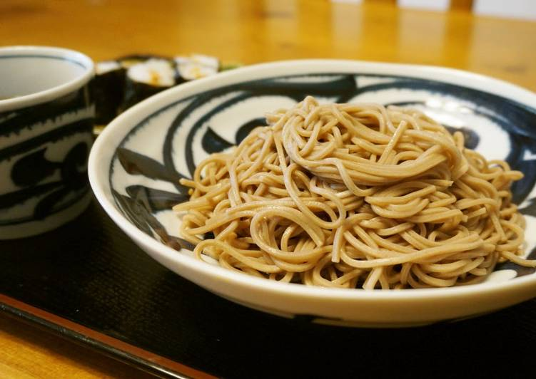 Easy Homemade Chilled Soba Lunch Recipe