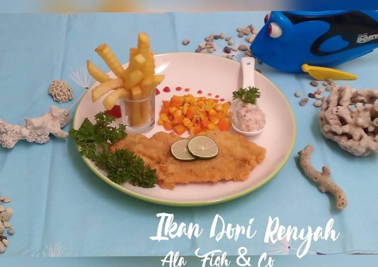 Ikan Dori Renyah Ala Fish & Co