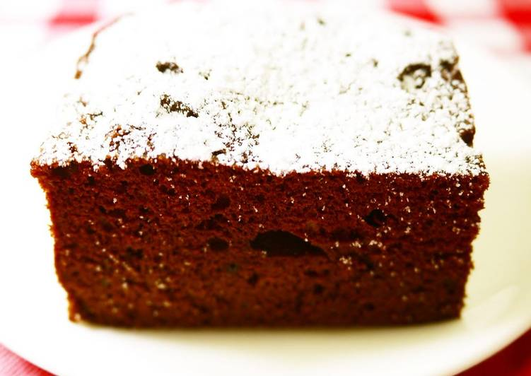 Recipe of Any-night-of-the-week Easy Gâteau au Chocolat in the Microwave