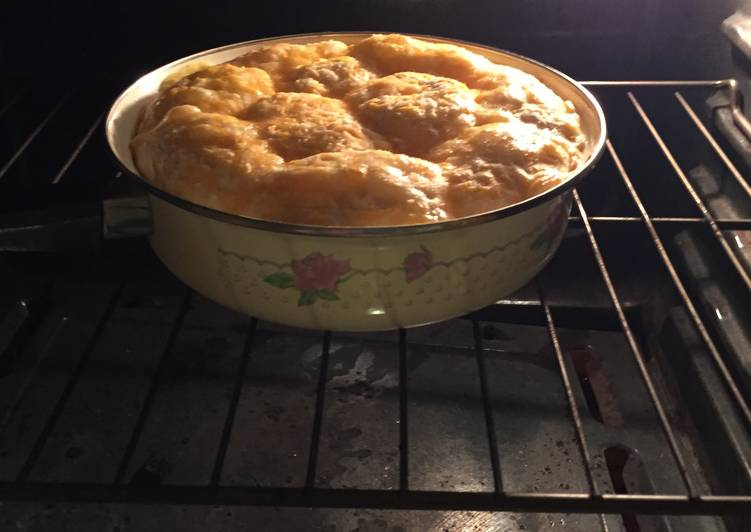 Rice And Broccoli Pot Pie