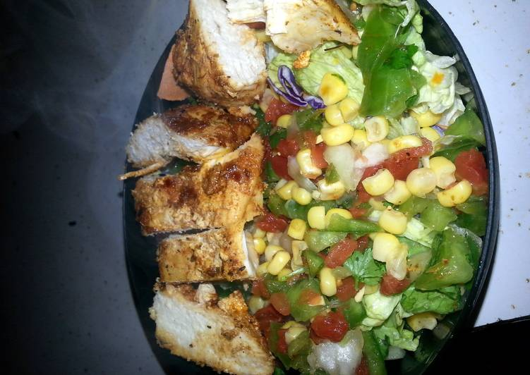 southwest grilled chicken salad