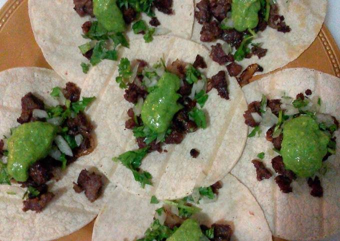 how to prepare beef for carne asada tacos