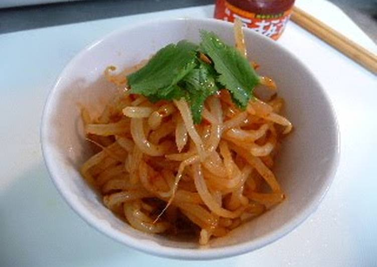How To Make Your Spicy, Delicious Bean Sprouts