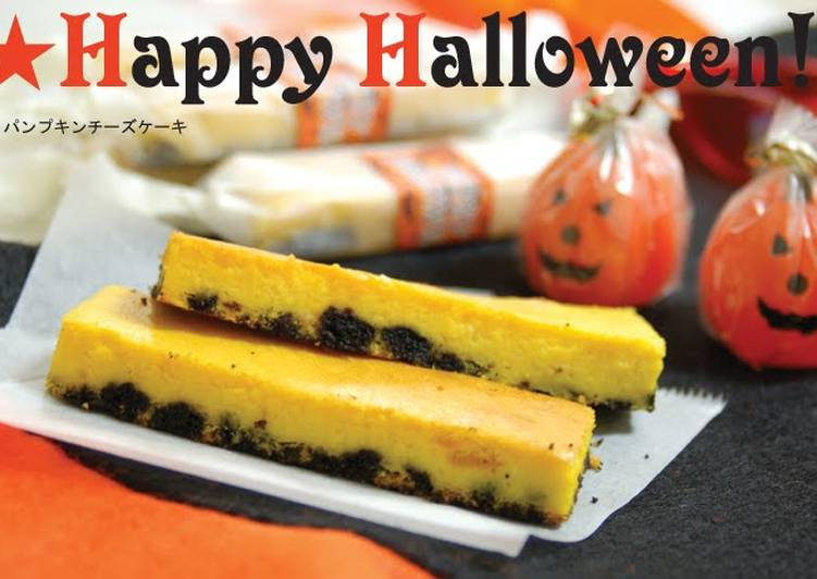 Easiest Way to Cook Yummy Halloween Kabocha Cheesecake