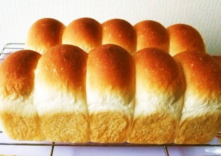 How to Make Quick Soft & Moist Mini Roll Loaf In a Pound Cake Pan