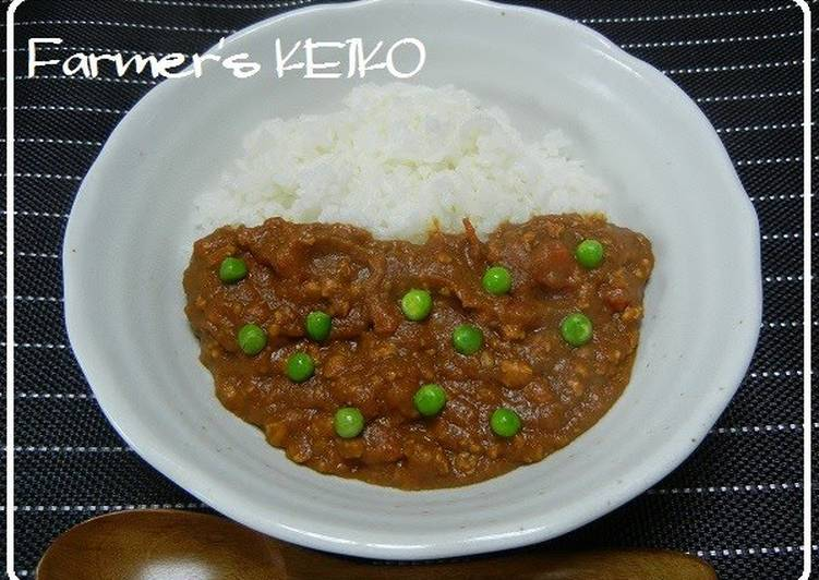 [Farmhouse Recipe] Keema Curry without Water Choosing Fast Food That's Fine For You