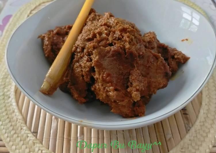 Rendang Daging Sapi Asli Padang