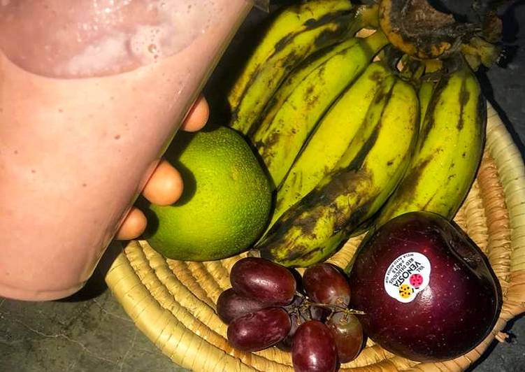 Fruits smoothie