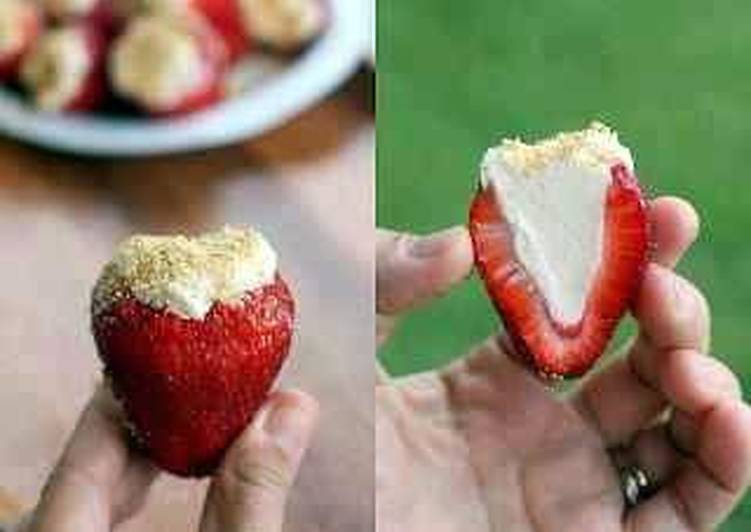 Larry's stuffed Strawberries