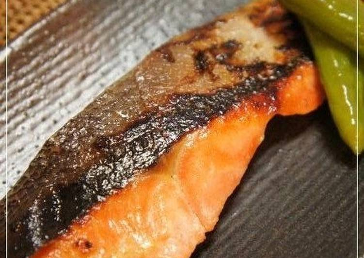 Grilled Salmon Fillet with Yuzu Pepper Paste & Shio Koji - Laurie G Edwards