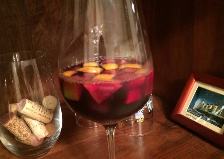 Steps to Prepare Super Quick Homemade Ricardo's Sangria