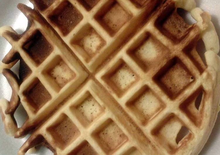 Recipe of Any-night-of-the-week Best-Ever Belgian Waffle