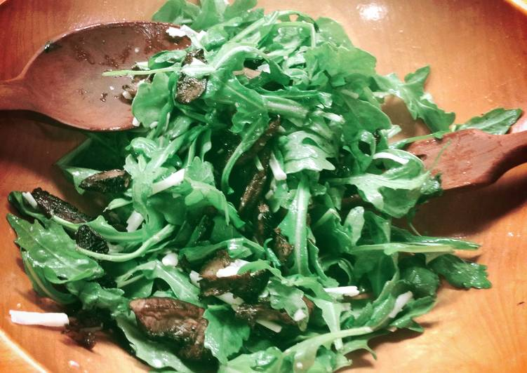 Drunken Arugula Salad