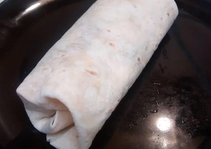 Easy Chicken burritos