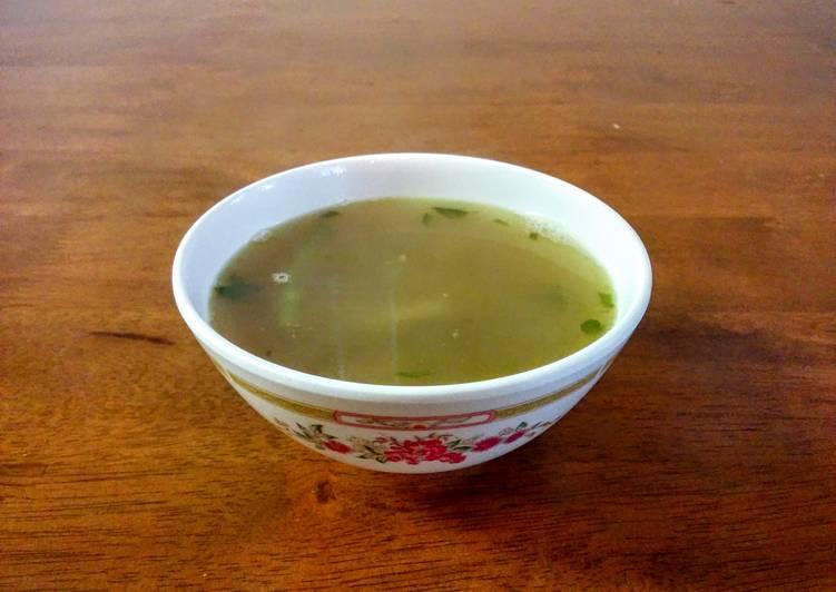 Watercress Chicken Soup