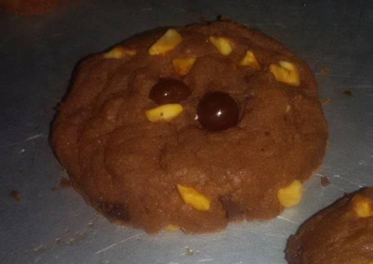 Coklat kacang Cookies