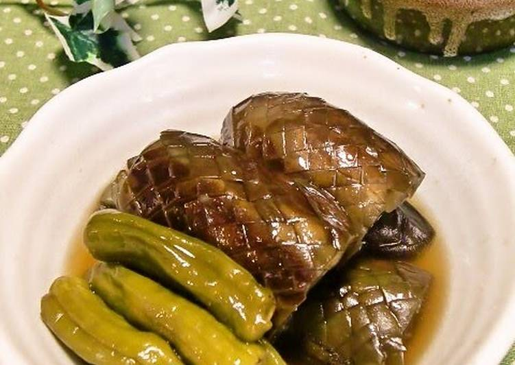 Now You Can Have Your Stewed Eggplants and Shishito Green Peppers
