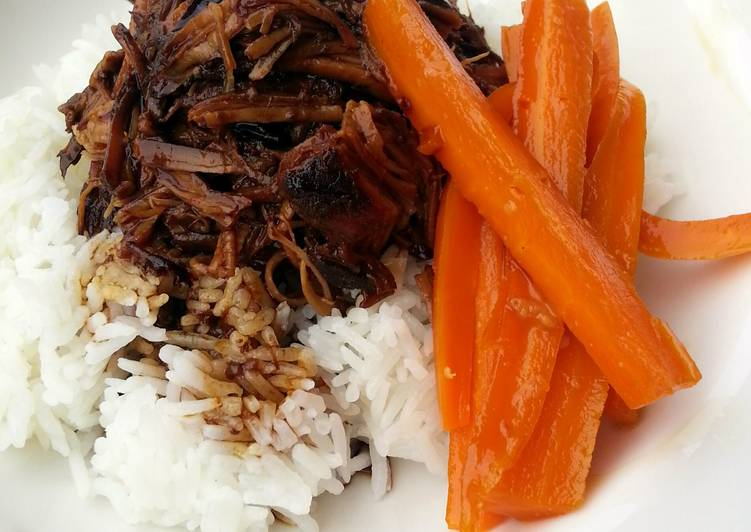 How to Cook Delicious Pulled Pork On Rice