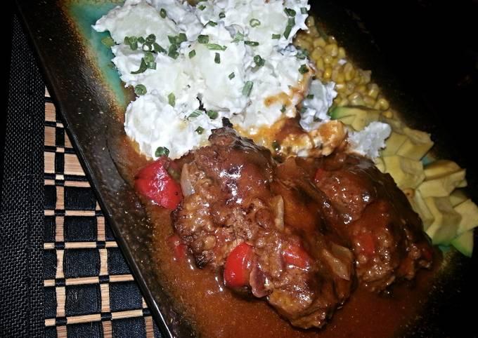 Easy & Tender Salisbury Steaks