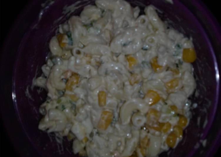 Recipe of Quick tuna macaroni salad
