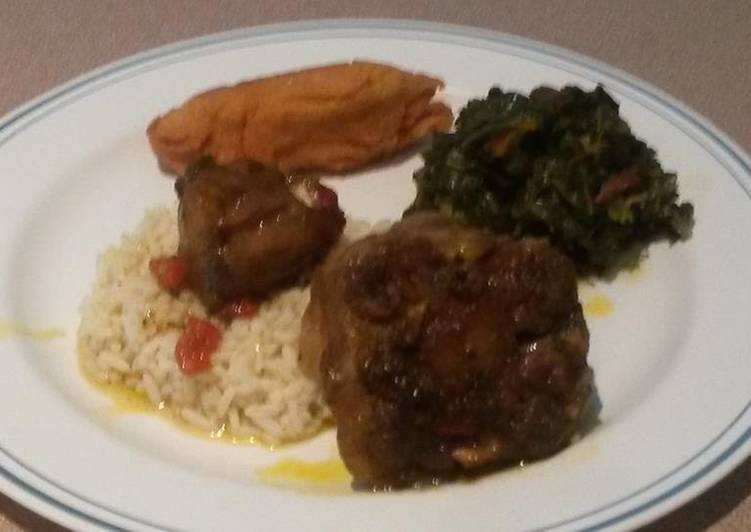 Easiest Way to Prepare Perfect Jamaican Jerk/Curry Oxtails