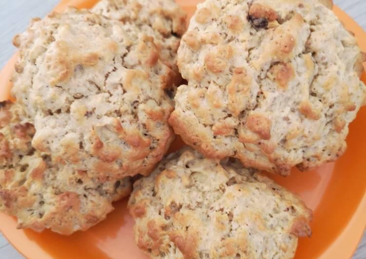recette Cookies au muesli le délicieux