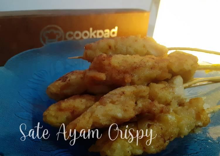 Sate Ayam Crispy