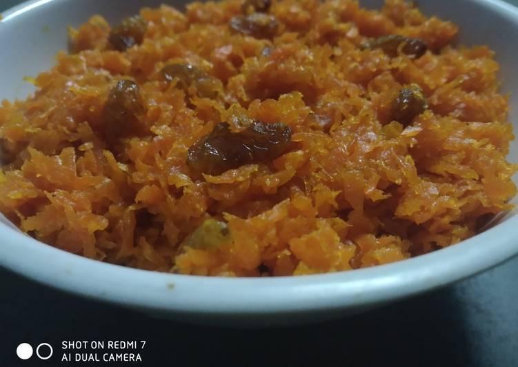 How to Make Homemade Carrot Halwa