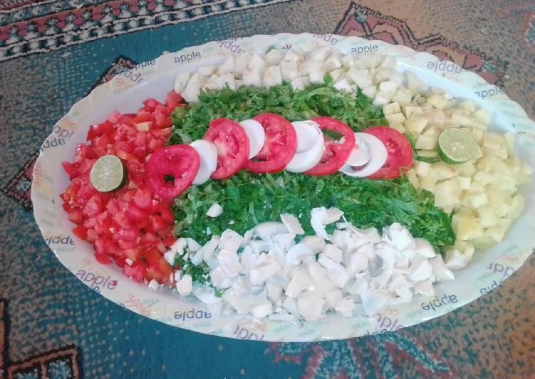 How to Prepare Super Quick Homemade Lettuce salad