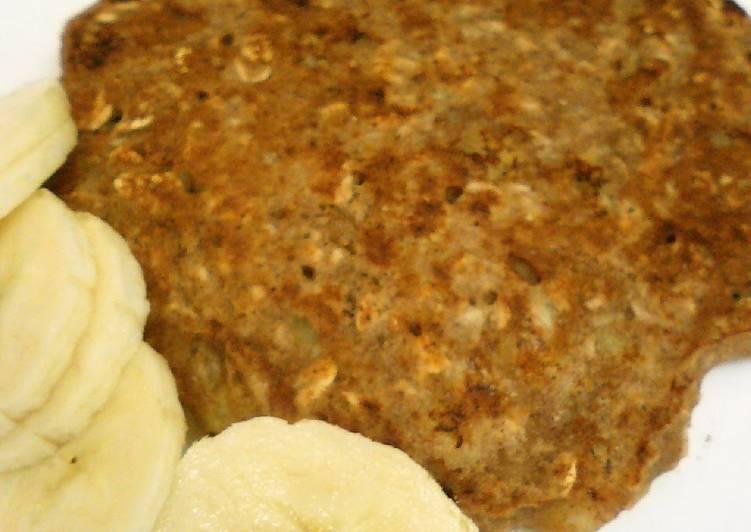Easy-to-Make Banana Oatmeal Pancakes