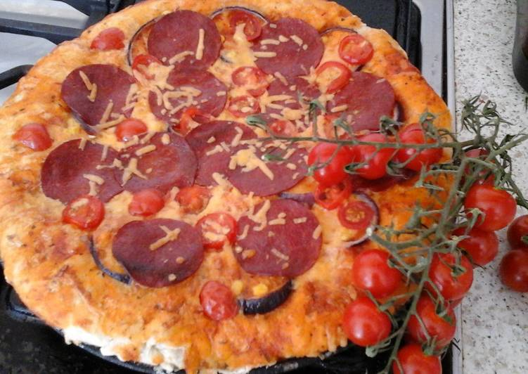 How to Make Favorite My Pepperoni style pizza