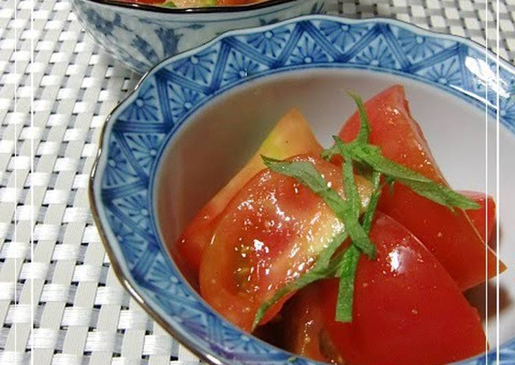 Living Greener for Better Health By Consuming Superfoods Tomato Salad with Japanese Mustard
