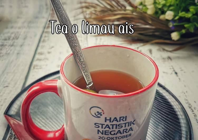 Tea ais limau - resepipouler.com