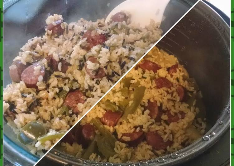 Easiest Way to Make Any-night-of-the-week Easy Rice Cooker Jambalaya