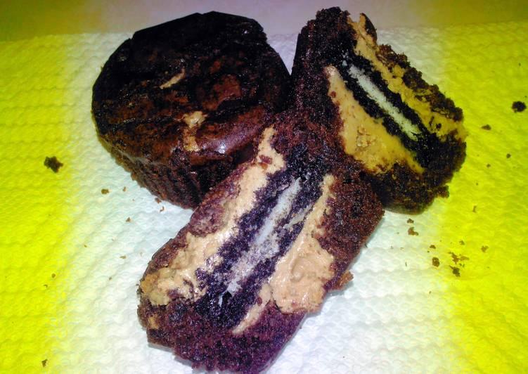 Brenda's Peanut butter Oreo Brownies