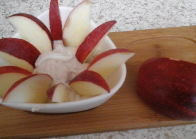 My Apple with Balsamic Dip  😍