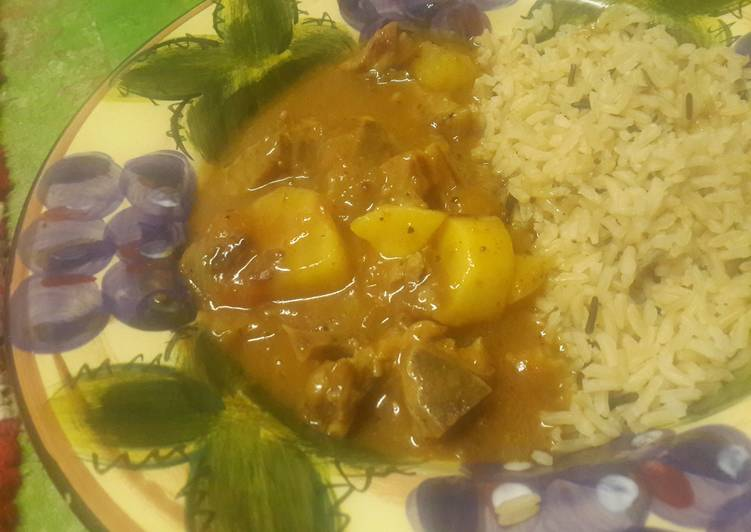 Recipe of Award-winning Lamb & sweet potato curry