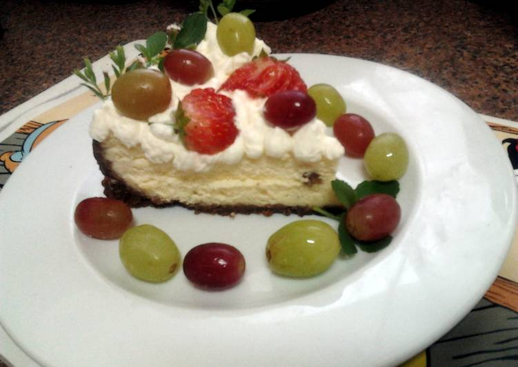 Ladybirds French Style Baked Cheese Cake .