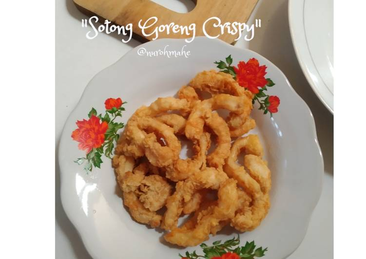Sotong Goreng Crispy / Cumi Goreng Crispy - cookandrecipe.com