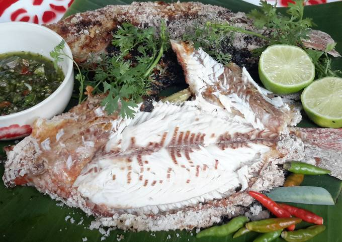 Pla Pao / Thai Style Grilled Whole Fish
