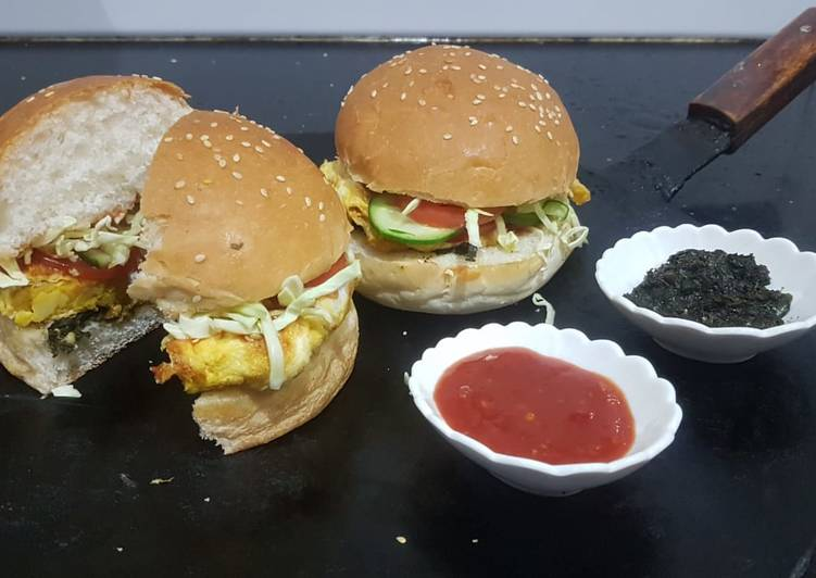 Easiest Way to Make Super Quick Homemade Anday wala burger
