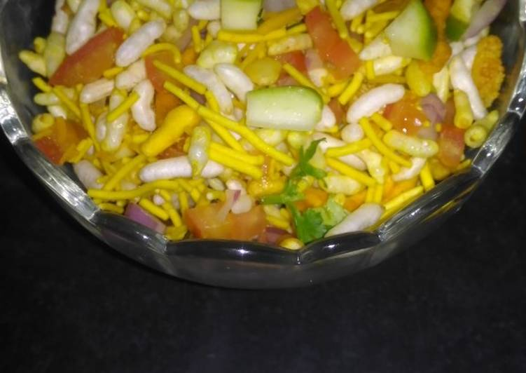 Simple Way to Make Favorite Sukhi Bhel(Dry bhel)
