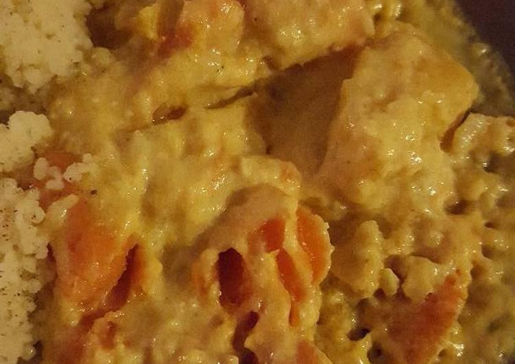 Poêlée de carottes, rutabaga et patate douce au lait de coco
