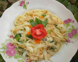 Kwetiaw kuah simpel(simple kwetiaw butter)