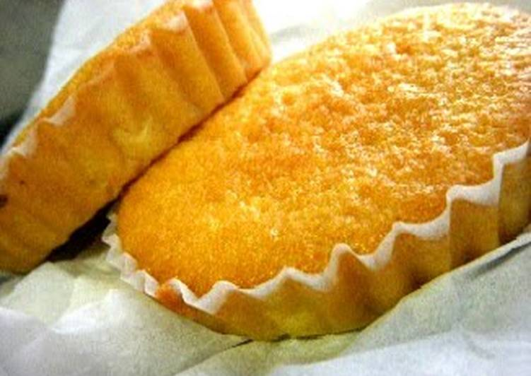 Easy and Moist Madeleines