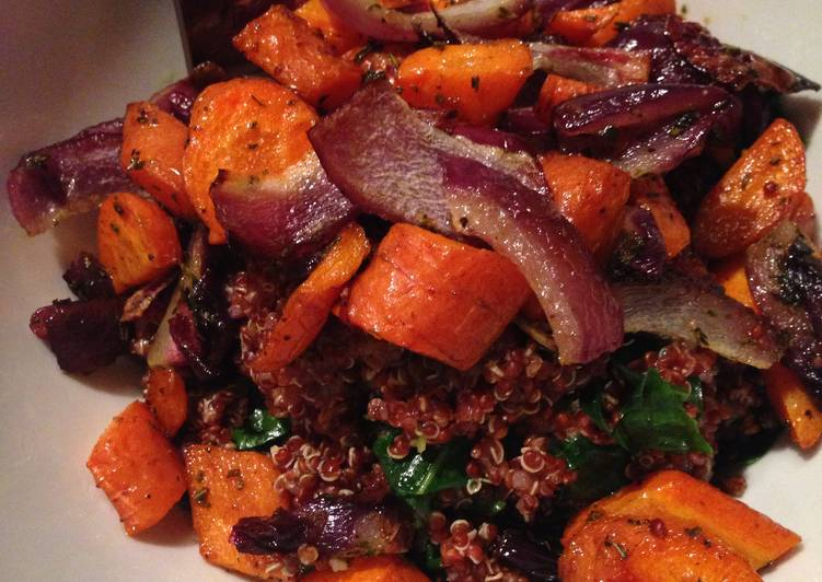 Roasted Veg Quinoa