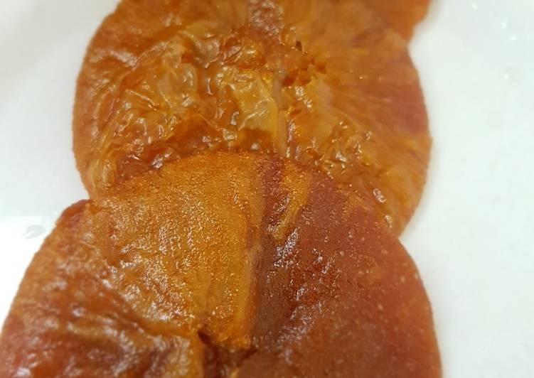 Cucur gula merah sederhana