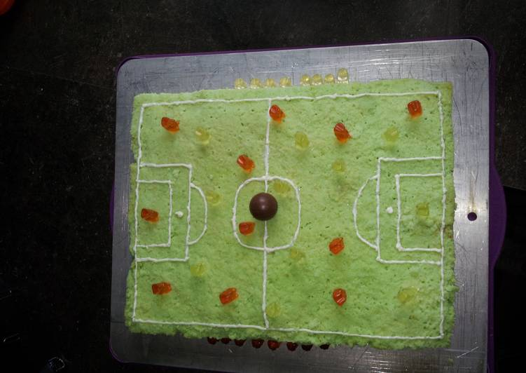 Easiest Way to Make Perfect Soccer cake