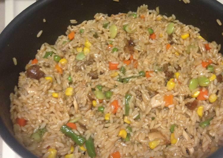 Mixed Stir Fry Rice