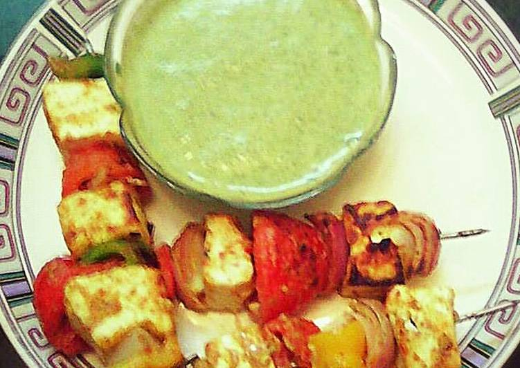 Recipe: Delicious Paneer tikka